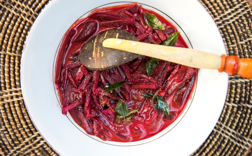 Beetroot Curry Recipe by Casa Heliconia