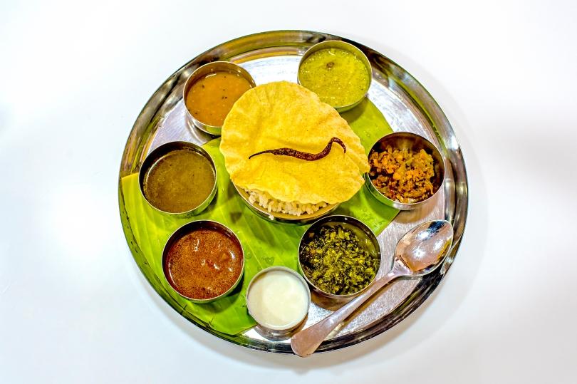 Nallur Bharvan Thali